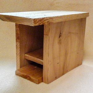 western red cedar mason bee house